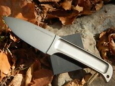 Cold Steel Drop Forged Hunter 36M 52100 Carbon Steel Blade/Handle Leather Sheath