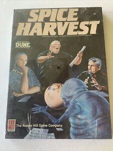 Spice Harvest Dune Avalon Hill shrink sealed unopened 1984