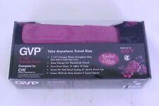 "GVP Generic Value Products 1 1/2"" Travel Iron Ltd. Ed. Sparkle Pink NEW"