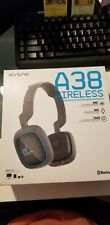 Astro A38 Wireless Bluetooth Gaming Headset Noise Canceling Dark Gray