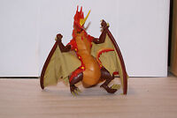 2008 SEGA Spinmaster Red Dragon Cloth Wings Figure Toy 10in Tall