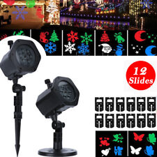 Christmas Laser Projector Light LED MOTION Outdoor Indoor Landscape Lamp 12 Type