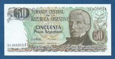 ARGENTINA -- 50 PESOS ARGENTINOS ND ( 1983-85 ) -- UNC -- SERIE A -- PICK 314a .