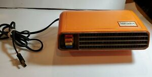 Heatwave Vintage Intermatic Powerful Instant Heater Portable Fan JH-600 Working