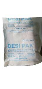 Desi-Pak Bentonite Clay Desiccant  - 1 pack (5oz or 140g
