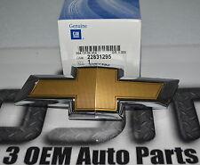 2014-2015 Chevrolet Camaro Rejilla Delantera Oro Pajarita Emblema Nuevo Oem