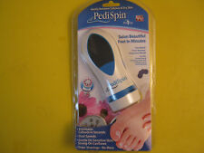 Pedi Spin As Seen on TV Pedispin Foot File Safe Gentle for Delicate Skin Heels