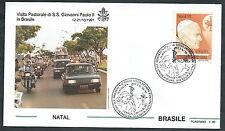1991 VATICANO VIAGGI DEL PAPA BRASILE NATAL - SV2