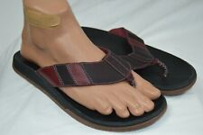 Chaco Mens Playa Pro Leather Flip Size 9US Spice MSRP$75 (CS19M-5)
