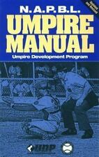 N.A.P.B.L. Umpire Manual-ExLibrary