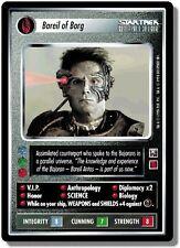 Star Trek CCG EFC Enhanced First Contact Bareil of Borg