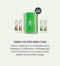ARBONNE ESSENTIAL ENERGY FIZZ STICKS VARIETY PACK NEW SEALED