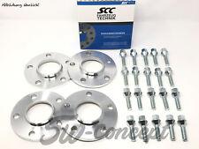 4x 10mm Adapterscheiben SCC BMW 5er E39 LK 5/120 74,1 auf 72,6 inkl. Schrauben