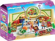 Playmobil City life 9403. Tienda de frutas y verduras. Más de 5 años. 113 piezas