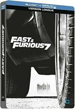 Fast & Furious 7 (Vin Diesel, Paul Walker) BLU-RAY STEELBOOK NEUF SOUS BLISTER