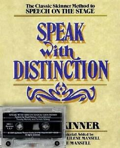 Speak With Distinction (Textbook only) by Skinner, Edith (Paperback)
