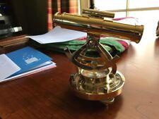 Handmade Marine Survey Instrument Alidate Telescope With Compass Decorative