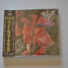 PAT TRAVERS BAND - LIVE! GO FOR WHAT YOU KNOW -  1990 JAPAN CD NEW & SEALED