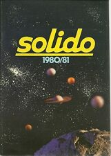 CATALOGUE SOLIDO - 1980/81