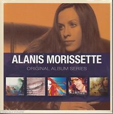Alanis Morissette/Jagged little pill, under rug swept u.a (5-cd-box-set, NOUVEAU!)