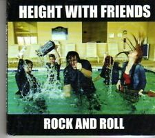 (DF924) Height With Friends, Rock and Roll - 2012 sealed DJ CD