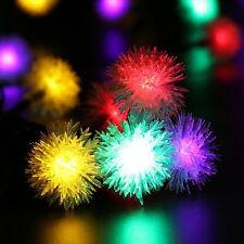 Chuzzle Ball Outdoor Solar String Lights 23ft Fairy Globe Party Lights Decor New