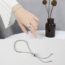 Damen Armband echt Sterling Silber 925 Zirkonia Rhodiniert  8 - 22 cm