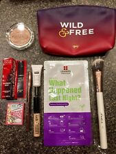 IPSY 9 Pc Mixed Makeup lot for AUGUST Bag