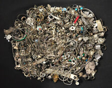 3816 Grams Scrap Sterling Silver Jewelry Findings Pieces Parts