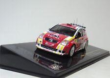 ixo 1:43 CITROEN C2 S1600 #55 Winner Tour de CORSE 2006 Diecast model car