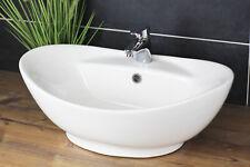 Aufsatzwaschbecken Oval 60x40 Waschbecken Modern Waschschale
