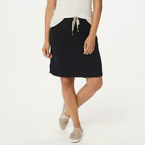NWT LOGO Lounge by Lori Goldstein Women's Plus Size French Terry Skirt. A350586