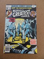 Marvel's Greatest Comics 69 . FF / J.Kirby . Marvel 1977 . FN / VF