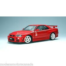 NISSAN SKYLINE GT-R (R34) NISMO S-TUNE VERSION ACTIVE RED by AUTOart 1:18