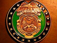 CHALLENGE COIN UNITED STATES ARMY MILITARY POLICE GREAT CONDITION FREE SHIP