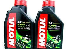 Motul 5100 10W50 4T HUILE DE MOTO L'HUILE MOTEUR 4-Takt première noyau 2 x 1L