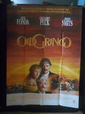 AFFICHE originale grand format ( 120 x 160 ) OLD GRINGO de L Puenzo  1989.