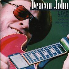 Deacon John - Live at 1994 New Orleans Jazz & Heritage Festival [New CD]