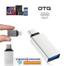 Micro USB-C 3.1 Tipo C Macho a USB 3.0 Adaptador De Cable OTG Datos Carga