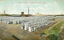1910 Cotton Compress, Oklahoma City, Ok Postcard
