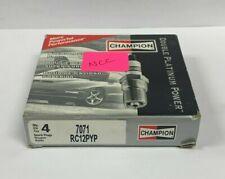 Champion Spark Plug 7071 RC12PYP Pack of 4