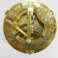 Solid Brass Sundial Compas Best Items For Gift