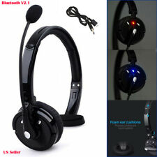Noise-Canceling Headset Over the Head Boom Mic for PS3 Trucker Drivers