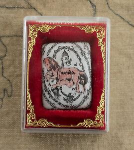 Talismano Amuleto Tailandese Mae Saep Nang Donna Cavallo Amour Yintong Rara 2289
