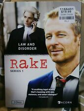 RAKE: Series 1 Brand New SEALED DVD 2010 Law & Disorder SEX Violence Smart