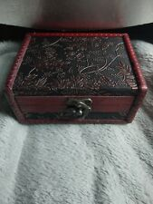 Tarot Card Box wooden Treasure chest to store crystals