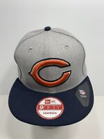New Era 9FIFTY Snapback Chicago Bears Flat Bill Cap, NEW!