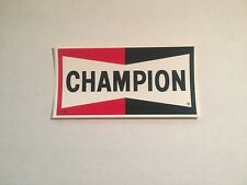 1968 CHAMPION SPARK PLUGS VINTAGE ORIGINAL RACING DECAL STICKER NOS NASCAR NHRA