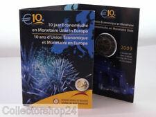 Coin / Munt 2009 Belgie 2 Euro - 10 Jaar Economische en Monetair Unie in Europa