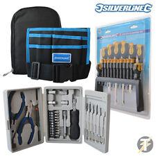 Silverline Conjunto De Herramientas Kit con 18 PC Destornilladores Set, Cinturón